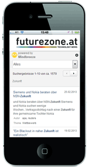 Mindbreeze InSite futurezone